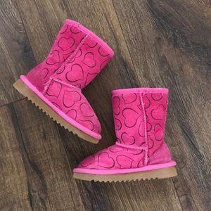 Girls Sheepskin Boots Size 10